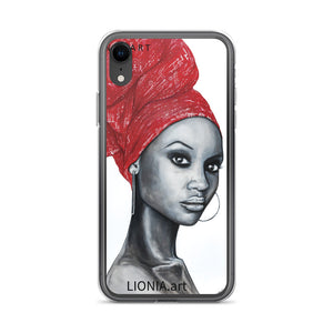 African Pride iPhone Case by Lionia