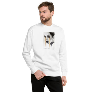 Golden Lessons Original Art by Lionia Unisex Fleece Pullover