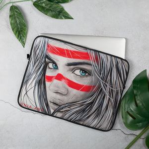 Beach Tribe - Original Art by Lionia Laptop Sleeve