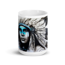 Blue Chief - Original Art by Lionia Mug
