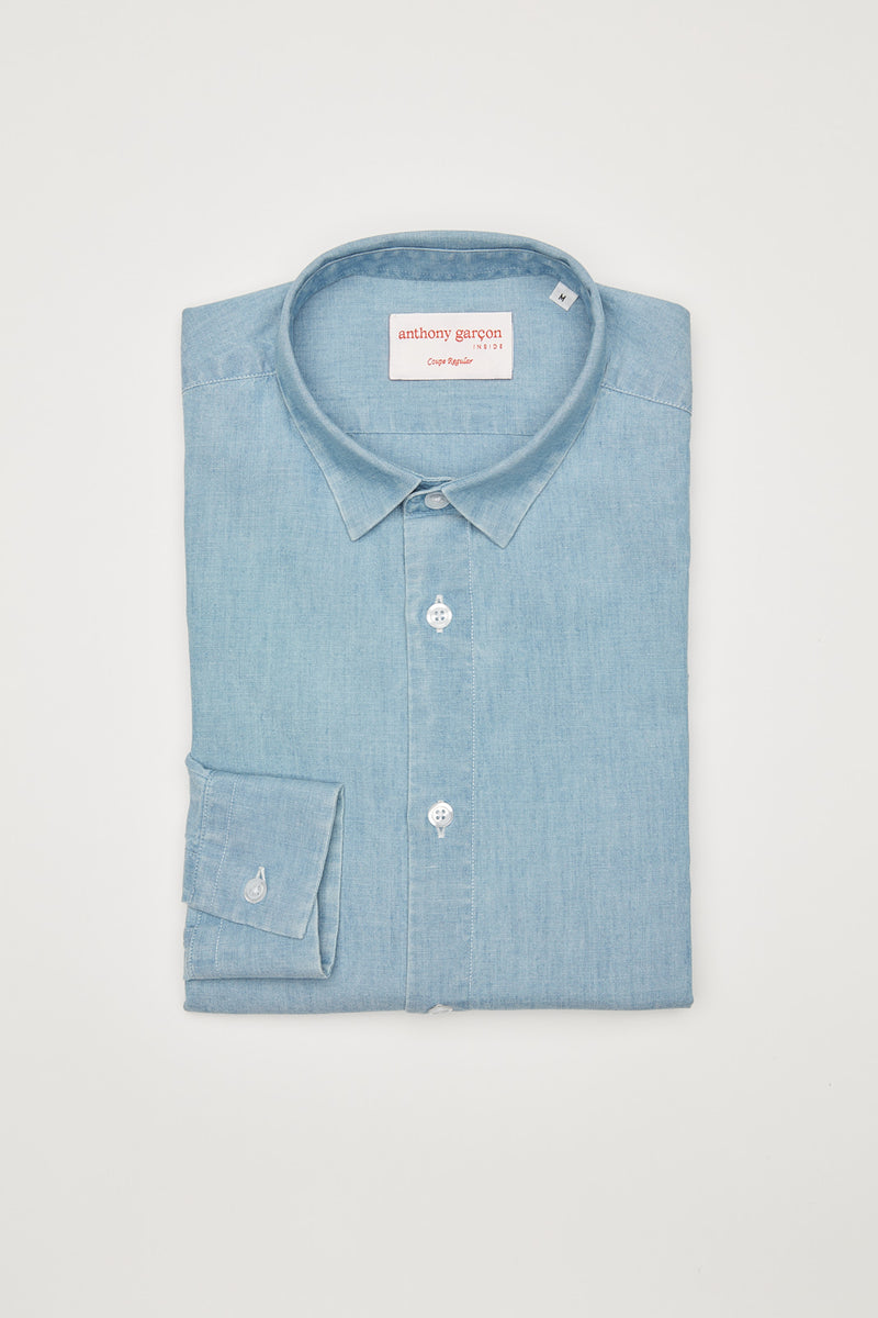 Chambray M regular col souple