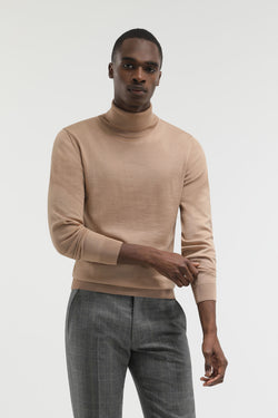 Pull Victor beige