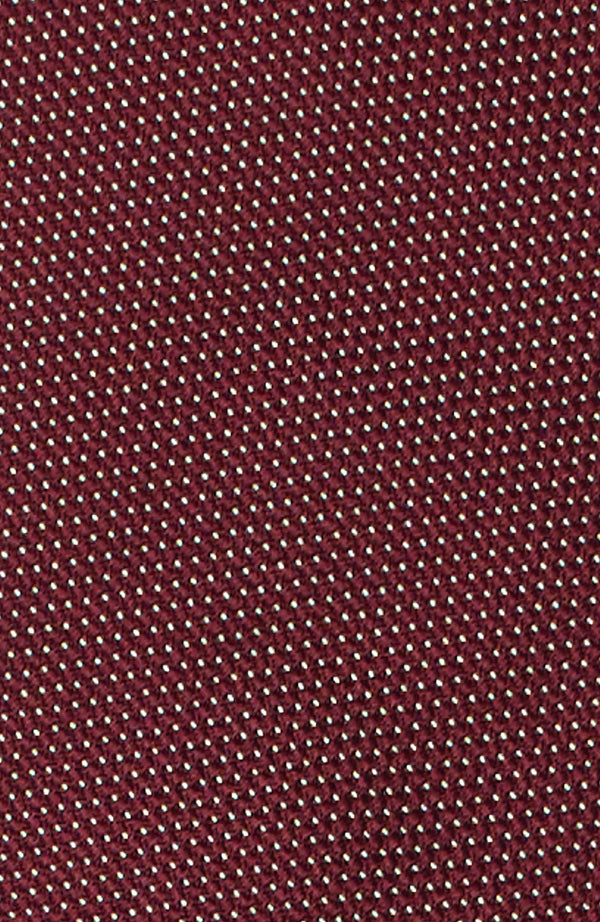 Micro dots bordeaux