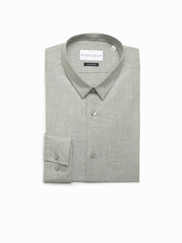 Polar grey tailor fit col souple