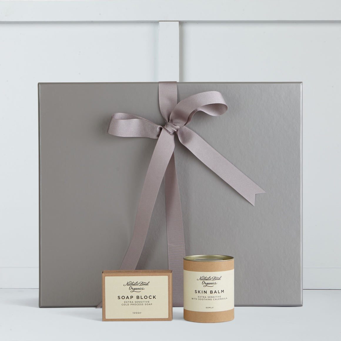 Extra sensitive skin balm and extra sensitive skin soap block by Nathalie Bond