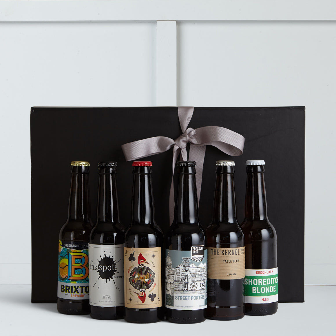 Six artisan beers from some of the best UK micro breweries