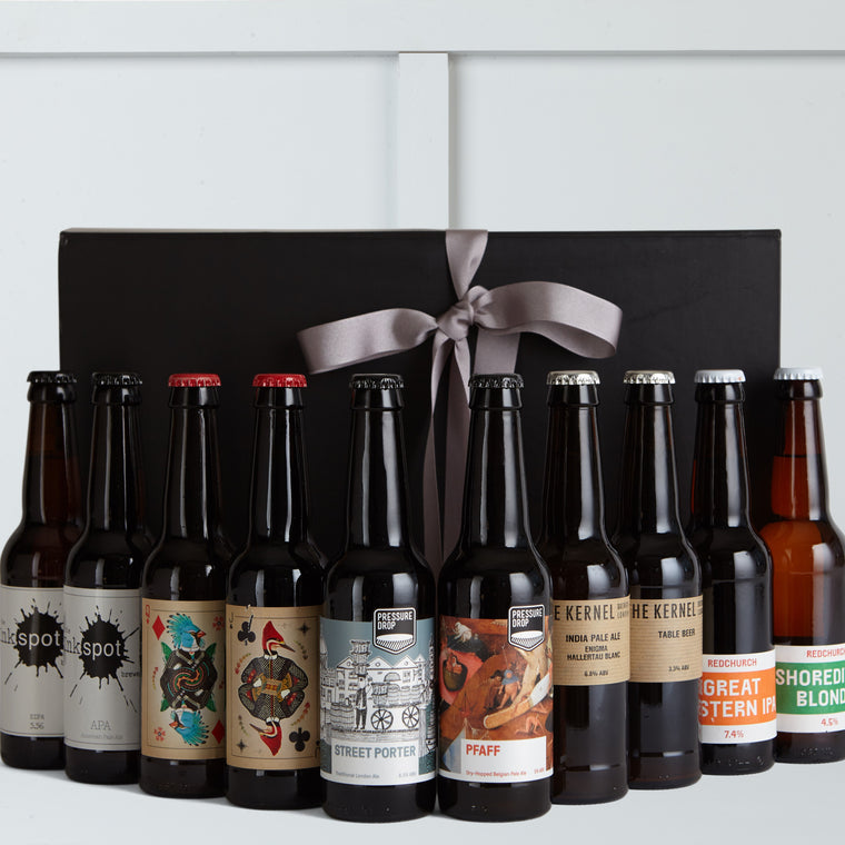 The Deluxe Beer Box - Hamper Lounge