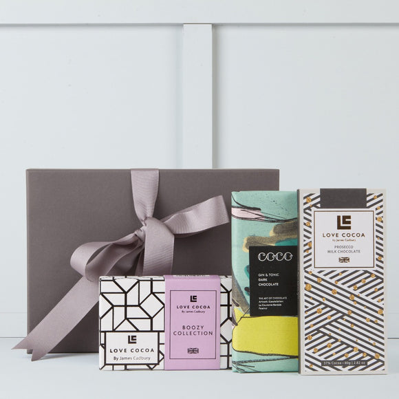 Boozy Chocolate Gift Box