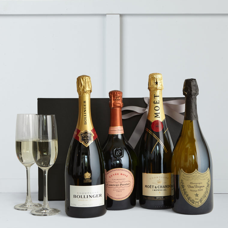 The Deluxe Champagne Classics - Hamper Lounge