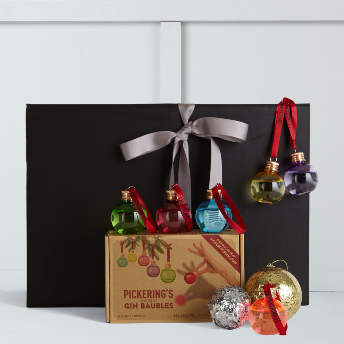 Gin Christmas Baubles | Hamper Lounge