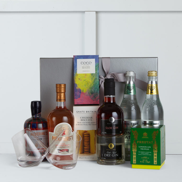 Gin & Tonic Deluxe Box - Hamper Lounge