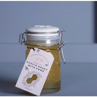 Acacia Honey With Comb - Hamper Lounge