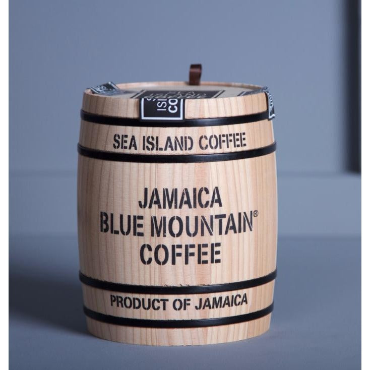 Jamaica Blue Mountain Coffee Gift Barrel - Hamper Lounge