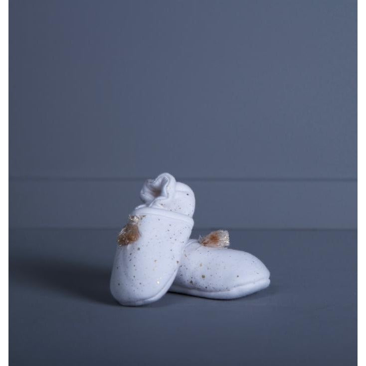 Confetti Print Baby Booties - Hamper Lounge