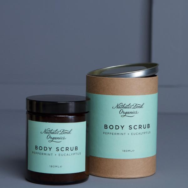 Peppermint & Eucalyptus Body Scrub