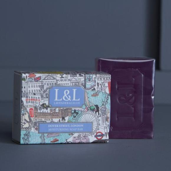Image of Dover Street soap by Lavender & Lillie