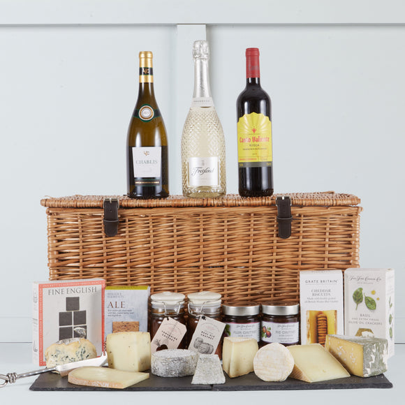 Deluxe Cheese Hamper | Hamper Lounge
