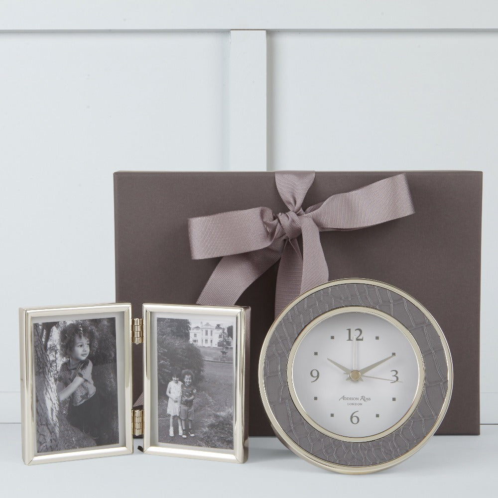 Addison Ross Clock & Frame Gift Box