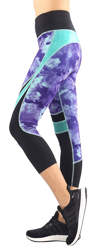 cf2b08ae52 Sugar Pocket Womens Outdoor Capris Fitness Tights Leggings Walking Running  For UK SHIPPING ONLY