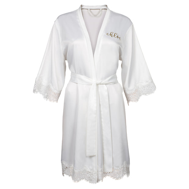 Personalised Satin Robe