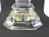 Antique French Crystal & Gilt Cristallo-Cerame Holy Water Font v311 Free Shipping