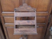 French Antique Religious Church Lectern Lutrin front closeup top