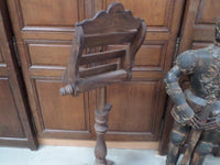 French Antique Religious Church Lectern Lutrin back