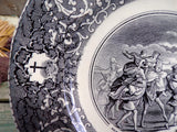 Antique Bordeaux Viellard Collectible Bible Plate  Rebecca Isaac
