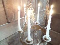 Antique French Church gothic Lustre Chandelier 8