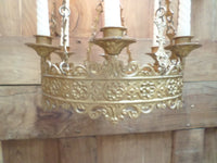Antique French Church gothic Lustre Chandelier 11