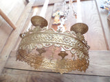 Antique French Church gothic Lustre Chandelier 13