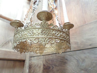 Antique French Church gothic Lustre Chandelier 15