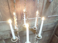 Antique French Church gothic Lustre Chandelier 9