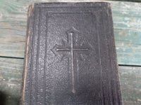 "Antique Religious Book French ""Paraoissien Romain"" circa 1900"