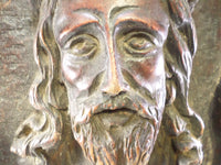 French Sculpture of Jesus Christ signed Jean Le Paranthoen (1914-2000) 4
