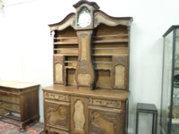 French Antique Bressan Vaisselier Grand-Father Clock