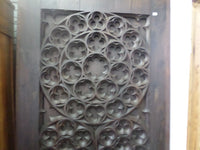 French Antique Gothic Church Panel Door 1700s