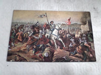 Color Postcard Joan of Arc Jeanne D'Arc circa 1910 Battle of Jargeau v624 Free Shipping