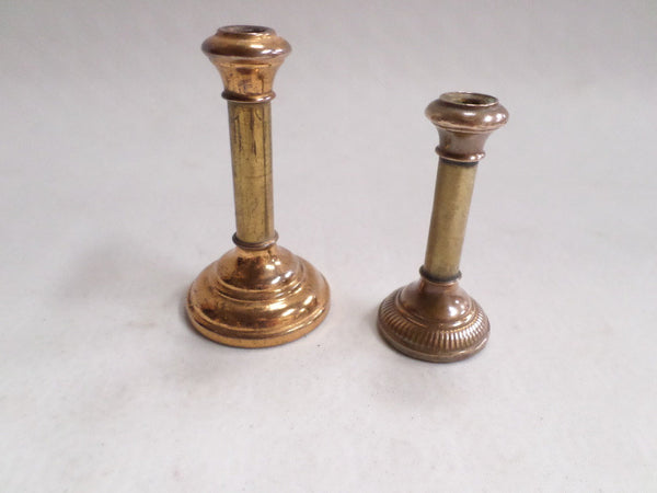 Pair of French Antique Religious Dollhouse candle holder circa 1890 v659 Free Shipping