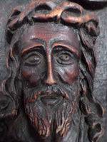 French Sculpture of Jesus Christ signed Jean Le Paranthoen (1914-2000) w642