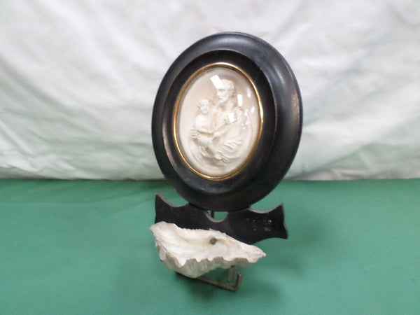 Antique Meerschaum Holy Water Font front