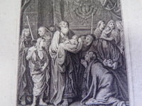 presentation of jesus in the Temple etching 1750
