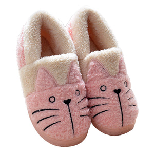 Cute Cat Warm Slippers