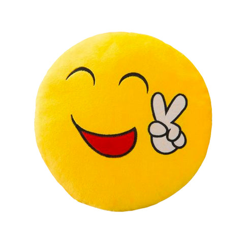 Emoji Smiley Pillow