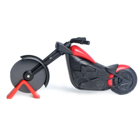 Image of Motorcycle Pizza Wheel Cutter