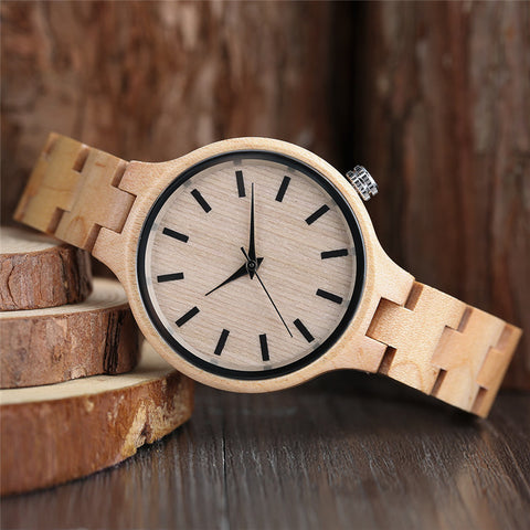 Oh My Ghost Wood Watch