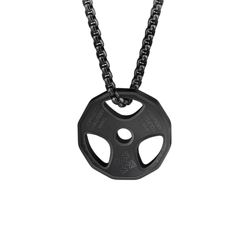 Image of Weight Plate Necklace