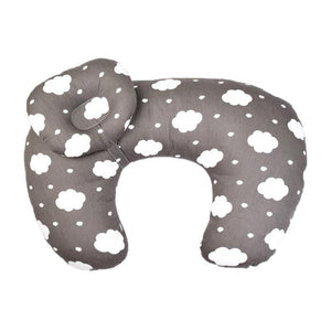 Baby Nursing Pillow With Cloud Print