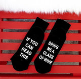 IF YOU CAN READ THIS - Women and Men's Socks