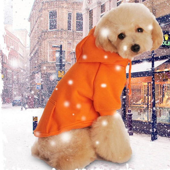Wear Puppy Pet Dog Large Medium Pet Dog Winter Warm Clothes Sweatshirts